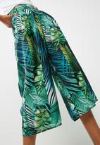 Missguided - Palm print cullottes