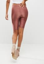 Missguided - Disco slinky cycling shorts