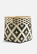 Sixth Floor - Zumba bamboo basket