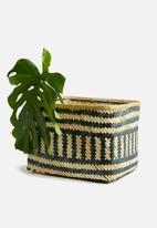 Sixth Floor - Large tango bamboo basket