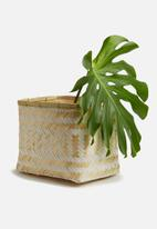 Sixth Floor - Small tango bamboo basket