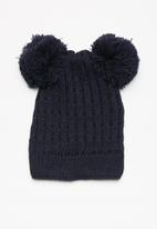 dailyfriday - Pom-pom ears beanie