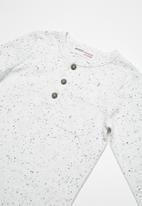 MINOTI - Marl long sleeve top