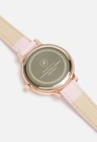 dailyfriday - Lindsay marbled face leather watch