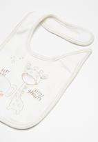 Babaluno - Sleepsuit and bib set