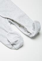 Babaluno - Striped sleepsuit