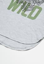 basicthread - Kids 2 pack longline curved hem tee