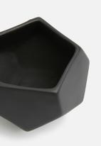 Grey Gardens - Hex mini vase