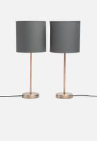 Sixth Floor - Upright table lamp set
