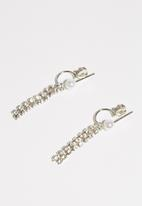 dailyfriday - 8pk crystal earrings and single ear cuffs