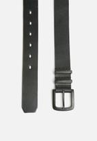 basicthread - Leather formal belt