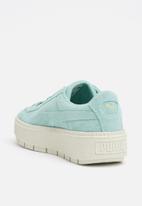 da4af034ee04 Suede Platform Trace - Aquifer-Blue Flower PUMA Sneakers ...