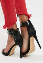 Missguided - Folded ankle strap barely there