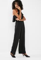 dailyfriday - One shoulder jumpsuit
