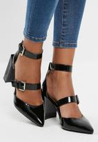 dailyfriday - Multi strap block heel