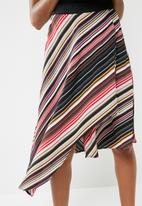 dailyfriday - Asymetric hem skirt