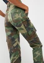 Missguided - Camo printed cargo pants