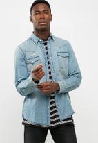 Only & Sons - Destroy regular fit shirt