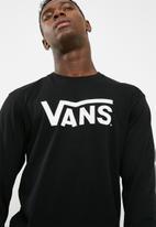 Vans - Vans Classic L/S - Black/white