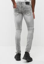 Sergeant Pepper - Classic trench skinny jeans