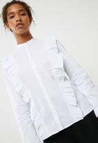 ONLY - Vida frill shirt