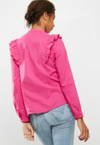 ONLY - Vida frill shirt