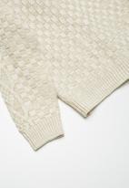 basicthread - Classic cable cardigan