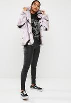 Glamorous - Zebra faux fur coat