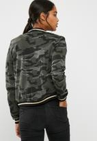 ONLY - Poptrash easy camo ribbed jacket