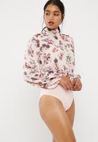 dailyfriday - Combo keyhole bodysuit