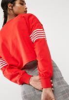 New Look - Stripe colour block sweat top