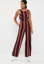 New Look - Vertical stripe strappy jumpsuit