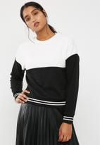 New Look - Colour block sweat