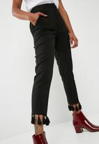New Look - Tassel hem trousers