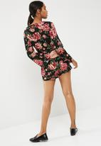 New Look - New floral playsuit
