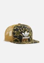 adidas Originals - Camo trucker cap
