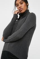 Jacqueline de Yong - Sanna highneck sweater