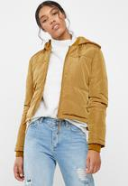 Jacqueline de Yong - Sola cropped hooded jacket