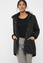 Jacqueline de Yong - Star parka jacket