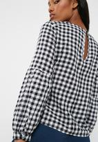ONLY - Gingham top