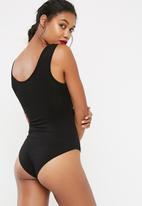 dailyfriday - Zip front bodysuit 2 pack