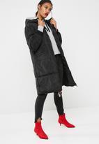 Jacqueline de Yong - Tori cropped hooded sweat