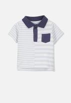 Cotton On - Baby Hugo polo tee