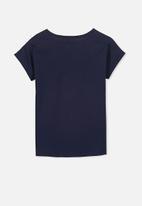 Cotton On - Kids lux short sleeve retro tee
