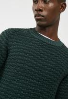 Only & Sons - Doc textured crew knit