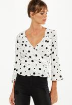 Cotton On - Ruby ruffle blouse