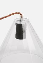 Sixth Floor - Facet glass pendant
