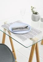 Sixth Floor - Chevron napkin set of 2