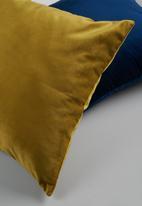 Sixth Floor - Magical cushion cover - mustard