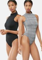 dailyfriday - 2 pack turtle neck bodysuit